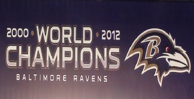 Home of the 2000 & 2013 Superbowl Champion Ravens!!!