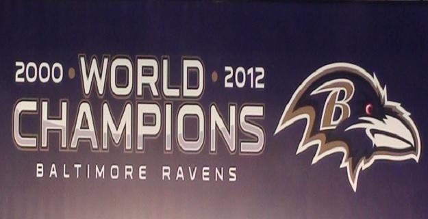 Home of the 2000 & 2013 Superbowl Champion Ravens!!!